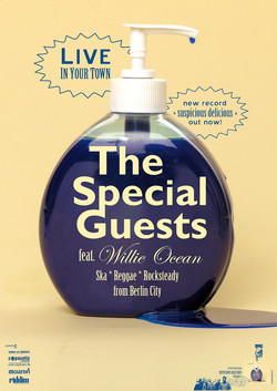 The Special Guests - Suscpicious Delicious Poster